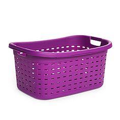 Purple Laundry Basket
