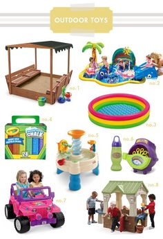 outdoor toddler toys | Hellobee
