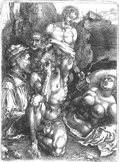nataliakoptseva: Albrecht Durer The Desperate Man