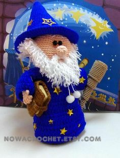 Astrologer Baltus  amigurumi PDF crochet pattern by Nowacrochet, €5.50