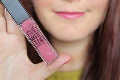 Maybelline Vivid matte liquid lipstick 5 nude flush