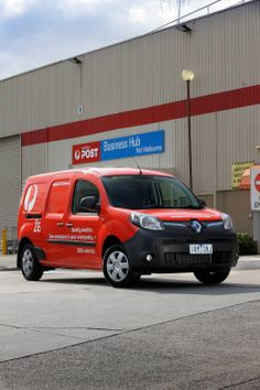 Australia Post and Renault Australia start a 12 month trial of the Renault Kangoo electric van. Click the image to read all about it