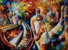 SURREAL MUSIC - LEONID AFREMOV by Leonidafremov.deviantart.com on @deviantART