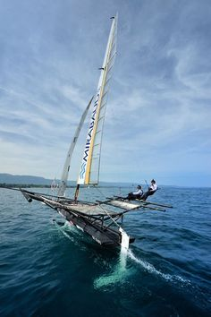 88 best RC Boats images on Pinterest   Boats  Boat and Electric Mirabaud LX sailing with Wing an ideal of future sailing