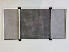 "Adjustable White Mosquito Proof Window Screen 20"" High x (30 x 56 1/2"") * More info could be found at the image url."