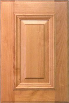 possible kitchen cabinet doors, but inner moulding sticks out.  cope and stick, but similar to bookshelf (although that is mitered) Solana Cabinet Door