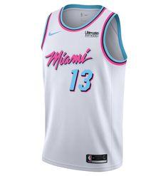 4fcbdc79a Bam Adebayo Nike Miami HEAT Vice Uniform City Edition Swingman Jersey