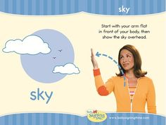 Learn Sign Language » Sign of the Week – Sky
