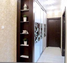 Встроенный шкаф купе в узкий коридор