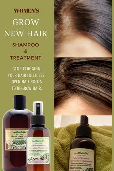 Focus On Your Scalp and Follicles For Faster Hair Growth. Maybe you have hair loss, thin or thinning hair,perhaps you can see your scalp in some areas, bald spots or your hair is falling due to breakage or other factors. These types of hair loss and thinning conditions can be caused by any number of issues which may include the damage done by use of chemical hair products, hormonal changes, DHT build up, stress, how you style your hair, and nutrition.
