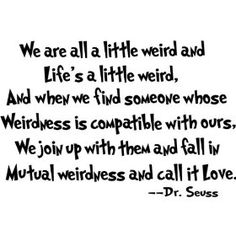 mutual weirdness :)