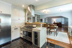 oven range on peninsula narrow kitchen - Google Search