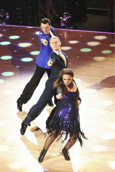 "Wk 9 Leah & Tony with Henry Byalikov danced Jive to ""We're Not Gonna Take It"" by Twisted Sister Scores: 9,9,9 = 27"