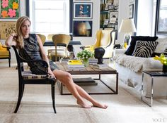 How beautiful is this Stark  antelope   carpet in Nicole Hanley Mellon's    apartment featured in APT ...