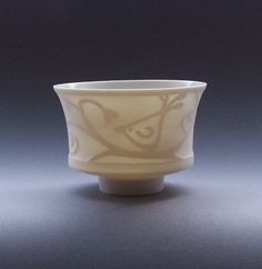 Ruth Robinson water etched ceramic.  This artist and Tim Gee, love their creations.