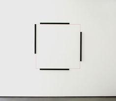Hartmut Böhm, Wall drawing, 2009
