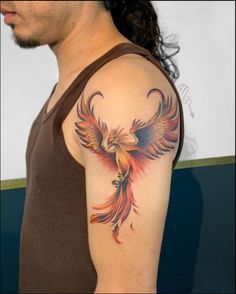 phoenix tattoo ideas Tattoo Ideas, Tattoo Designs, Phoenix Tattoo Design, Bird, Detail, Tattoos, Collection, Tatuajes, Birds
