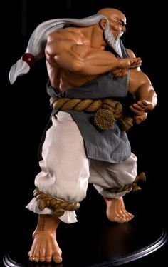 Street Fighter 1/4 Scale Gouken Statue