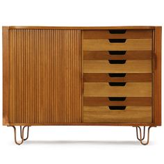Mister Cabinet by Edward Wormley Mcm Furniture, Vintage Furniture, Furniture Design, Furniture Storage, Antique Cabinets, Modern Cabinets, Mid Century Decor, Mid Century Design, Modern Retro