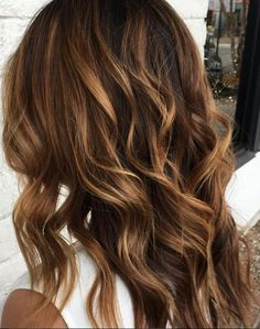 Mmmmm nutty based brunette. Color by Stephanie Thames.  Filed under: Hair Color, Hair Styles, Hair Stylists Tagged: balayage, beauty, brunette, fashion, hair, hairstyles, highlights, style, trends