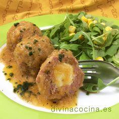 Albóndigas rellenas de queso » Divina CocinaRecetas fáciles, cocina andaluza y del mundo. » Divina Cocina