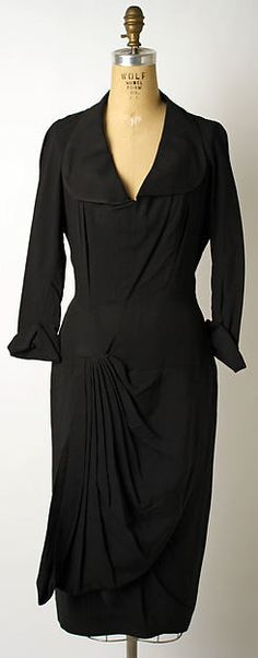 Afternoon dress (image 1) | House of Lanvin | French | 1928-29| silk | Metropolitan Museum of Art | Accession Number: 1978.29.3
