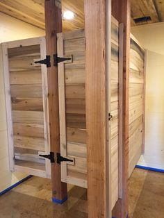 Outhouse Custom Toilet Partitions By Ironwood Manufacturing - Custom bathroom partitions