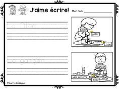 PARFAIT pour maternelle, 1ère année!