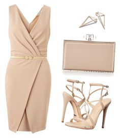 A fashion look from June 2016 featuring bodycon cocktail dresses, Schutz and judith leiber purses. Browse and shop related looks. Look Fashion, Girl Fashion, Fashion Outfits, Womens Fashion, Fashion Trends, Classy Outfits, Stylish Outfits, Beautiful Outfits, Polyvore Moda