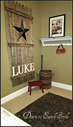 would love this for a cowboy room that i want to do with my next baby! Baby Boys, Baby Boy Rooms, Cowboy Room, Cowgirl Nursery, Western Nursery, Western Decor, Wall Decor, Room Decor, Wall Art