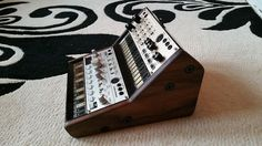 SOLID AMERICAN WALNUT DUAL KORG VOLCA BASS SAMPLE BEAT KEYS 2 TIER STAND in Musical Instruments, Pro Audio Equipment, Synthesisers & Sound Modules | eBay