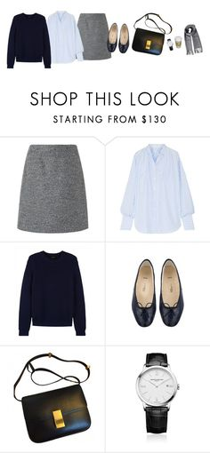 """Untitled #4804"" by memoiree ❤ liked on Polyvore featuring L.K.Bennett, Tome, Jaeger, Baume & Mercier and Polo Ralph Lauren"