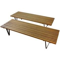 Pair of 1950s Architect Designed Benches or Tables