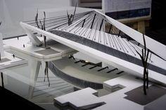 Primer Lugar Concurso Puente de Venecia / A-001,Maqueta