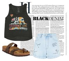 """""""Untitled #209"""" by ema-jones on Polyvore featuring Billabong, New Look and Birkenstock"""