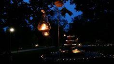 Esti romantikus fények az esküvőn