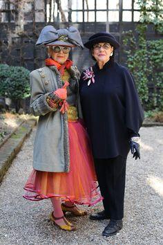 Helen and Debra