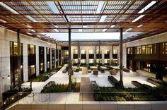 William H, Neukom Building, Stanford Law School design interior 2
