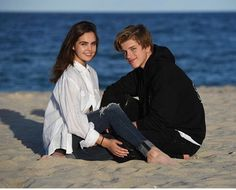 Alex Lange and Bailee Madison