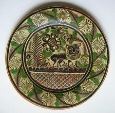 Large Vintage TLAQUEPAQUE Tonala Mexican NAGUAL Petatillo Art Pottery