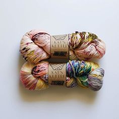 @thesweaterco's capture of yarns by @katskettle