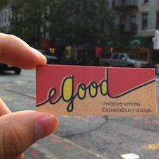 eGood -  Ordinary actions.  Extraordinary change.    www.eGood.com Action, Change, Type, Group Action