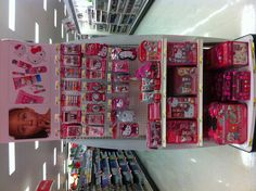 Hello Kitty beauty products at Target. :)