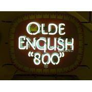 Old English 800 Malt Liquor Neon Sign
