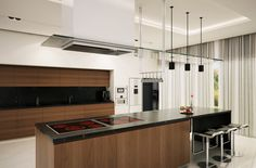Modern Kitchen by Hassan Jaber, via Behance
