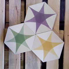 ♡ Star Blocks, Hexagon Tiles, Out Of Style, Morocco, Tile Floor, Thing 1, Shapes, Flooring, Ceramics