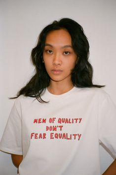 This shirt saves 500 gallons of water, offsets lbs of and avoids 305 harmful pesticides. 🌍 Look good. Equality Shirt, Feminist Shirt, Feminist Quotes, Aesthetic T Shirts, Aesthetic Clothes, Custom Clothes, Diy Clothes, Style Clothes, Fitness Humor