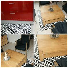 tapis vinyle DIY