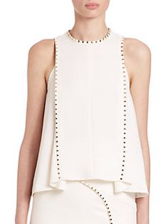 Versace Collection - Studded Swing Blouse
