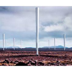 El molino eólico sin palas, un invento español